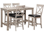 36  Counter Table 4 X Stools
