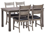 5pc Leg Table Dining Set