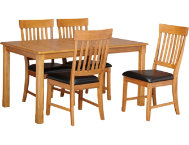 shop 5pc-Leg-Table-Dining-Set