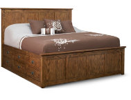 Oak Park King Storage Bed