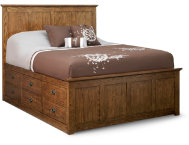 Oak Park Queen Storage Bed