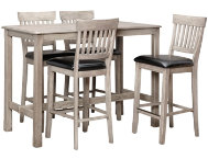 shop 42--Pub-Table-4-Slat-Stools