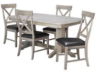 TRESTLE TABLE  4 X CHAIRS