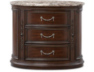Empire-II 3Dr Oval Nightstand