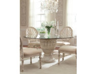 Empire II Glass Top Table