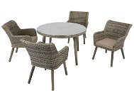 Elia 5 Piece Arm Dining Set