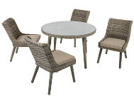 Elia 5 Piece Dining Set