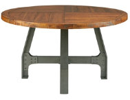 Lancaster Round Adj. Table
