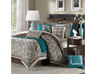 shop 9pc Queen Bennett Comforter