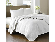 shop 3pc Queen Cotton Coverlet Set