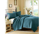 shop 3pc Queen Velvet Coverlet Set