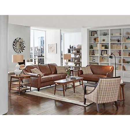 Living Room Sets Art Van carmen ii collection | leather furniture sets | living rooms | art