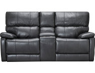 Sloan Power Leather Loveseat
