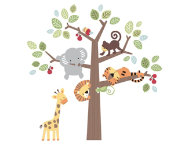 Treetop Buddies Wall Applique