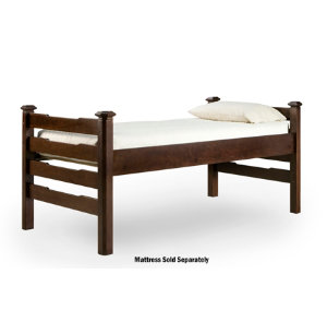 Twin Extra Long Slat Bed