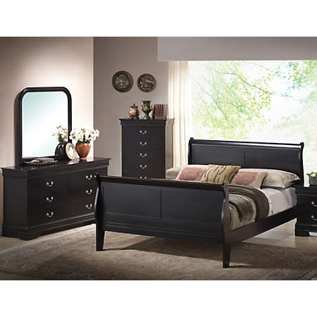 Philippe Bedroom Collection Black Master Bedroom