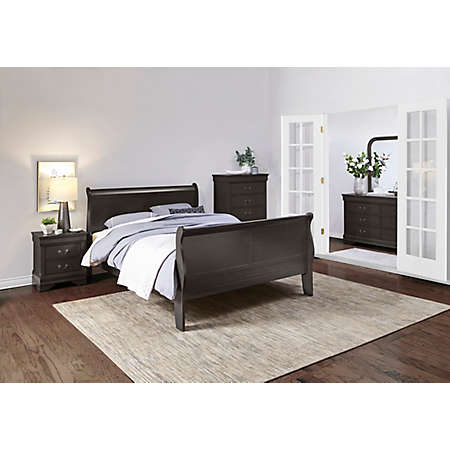 Philippe Grey Bedroom Collection Master Bedroom Bedrooms
