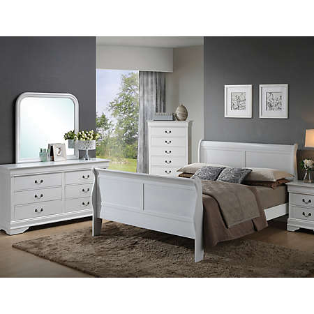 Philippe Bedroom Collection White Youth Bedroom