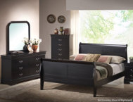 Philippe Dresser Mirror Q Bed
