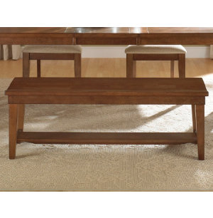 Hearthstone Bench - Rustic Oak