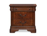 Alexandria 3 Drawer Nightstand