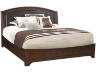 Avalon King Uph Platform Bed