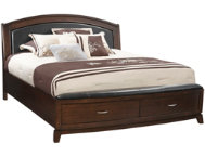 Avalon King Uph Storage Bed