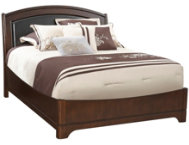 Avalon Queen Uph Platform Bed