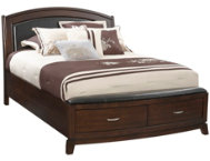 Avalon Queen Uph Storage Bed