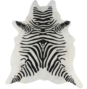 Natural Full Zebra Cowhide