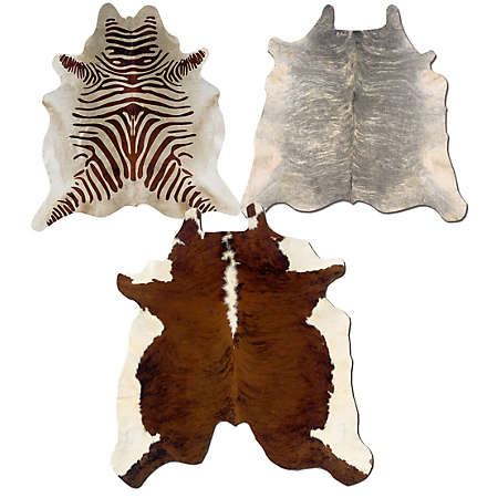 shop cowhide rug collection main