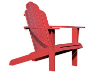 shop Red Adirondack Chair