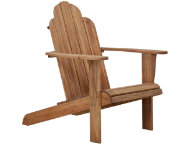shop Teak Adirondack Chair