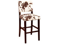 Corey cowprint bar stool