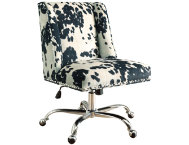 Draper Cow Print Office Chair