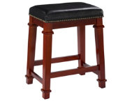 Kennedy Black Counter Stool