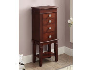 shop Madison Walnut Jewelry Armoire