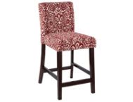 Morocco Red Counter Stool