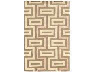 shop Aspire-Maze-Wool-Ivory-5x8-Rug