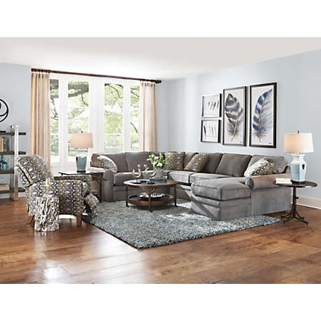 shop Collins II Sectional Main  sc 1 st  Art Van Furniture : lazboy sectionals - Sectionals, Sofas & Couches