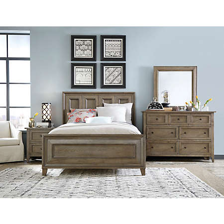 Talbot Driftwood Collection | Master Bedroom | Bedrooms | Art Van ...