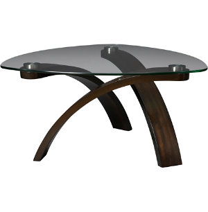 Pie Shape Cocktail Table