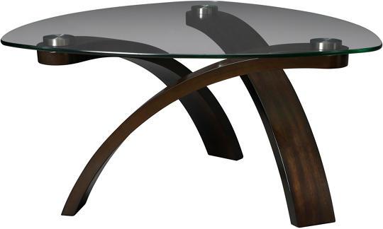 allure pie cocktail table art van furniture allure furniture