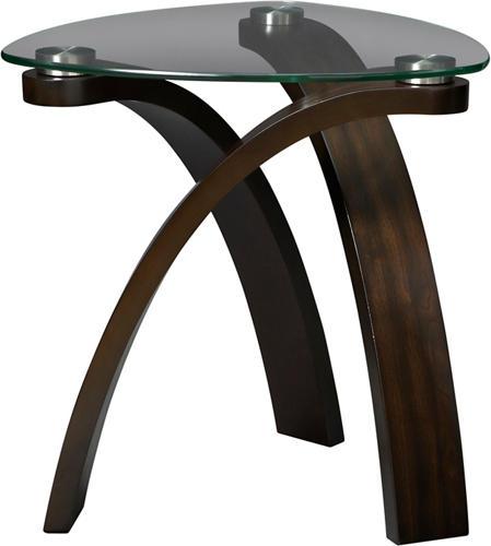 allure oval end table art van furniture allure furniture