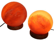 Two Sphere Himalayan Lamps