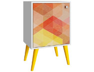 Funky Avesta Yellow Side Table