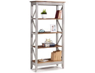 Camden Grey 65  Bookshelf