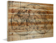 Mappe 12x18 Wood Art