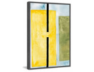 Yellow Space 18x12 Cancas Art