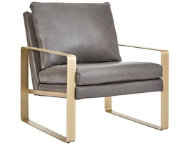 shop NB2 Leather Accent Chair